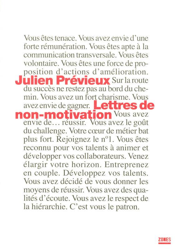 Id e cadeau no l rh n 4 les lettres de non motivation - Lettre motivation cabinet recrutement ...