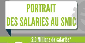 Infographie Rh Portrait D Un Salarie Au Smic En France Cabinet