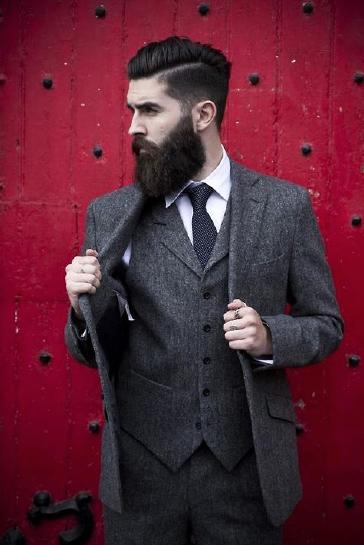 Elegance et barbe